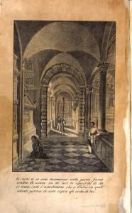 Illustrazione da Clelia ossia Bologna nel 1833 di Ifigenia Zauli Saiani.