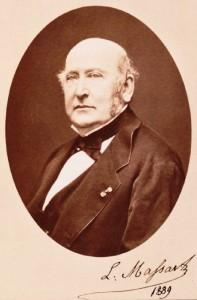 Il violinista Lambert Massart nel 1889