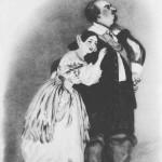 Luigi Lablache e Giulia Grisi ne I puritani, Kings Theatre Londra 1835