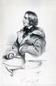 KRIEHUBER - Franz Liszt 1838