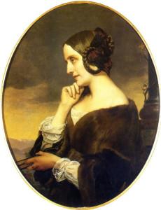 Henri Lehmann, Marie d'Agoult, 1843
