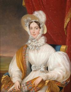 Johann Nepomuk Ender, Ritratto Maria Anna Carolina Pia di Savoia (Roma, 19 settembre 1803 – Praga, 4 maggio 1884), imperatrice d'Austria