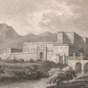 Il castello del Catajo in una stampa del 1840